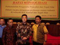 Ratusan Pengusaha Diwilayah Kamal Dan Tegal Alur Adakan Rapat Konsulidasi Bersama Pejabat Wilayah Bahas Peningkatan Zonasi R4 Menjadi Zona Industri