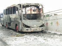 Polisi Buru Dalang Pembakar Mobil Brimob Di slipi Pada Aksi 22 Mai