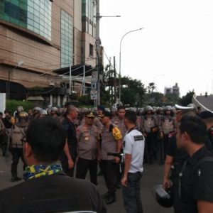Kapolda Metro Jaya Pantau Langsung Kondisi Terkini Di Kawasan Slipi Jaya