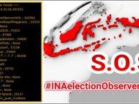 Hastag #INAelectionObserverSOS Menjadi Trending Topic Dunia, Warganet Tuding Polisi Tidak Netral di Pilpres