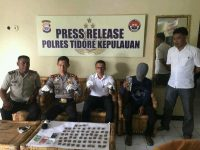 Bawa Ganja, Pria Asal Tidore Selatan Diciduk Polisi